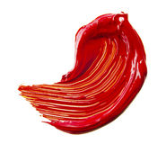Red paint tray Royalty Free Stock Photos