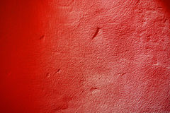 Red paint wall Stock Photos