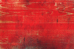 Red Paint Washed Wooden Background Royalty Free Stock Photo