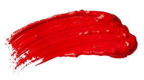 Red paint Stock Photography