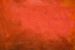 Red painted artistic canvas background Stock Photo