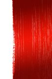 Red painted background. With white space on the right Royalty Free Stock Photos