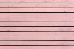 Red painted clapboard siding Royalty Free Stock Photography
