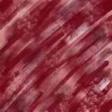 Red painted grunge texture. With chalk spots Stock Images