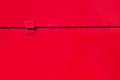 Red painted metal background Stock Photography