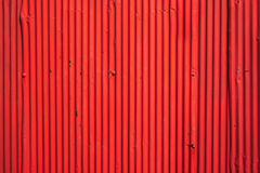 Red painted Metal texture. For background Royalty Free Stock Photography