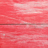 red painted on old wood for background and design Royalty Free Stock Photography