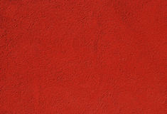 Red painted plastered wall Royalty Free Stock Photography