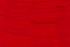 Red painted texture background Stock Photography