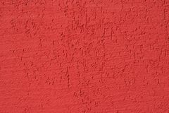 Red painted wall texture Royalty Free Stock Photos