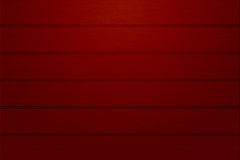 Red Painted Wood Background Stock Photography