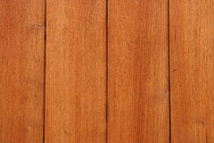 Red painted wood wall stock image