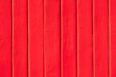 Red painted wooden wall background. royalty free stock photography