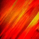 Red painting Stock Image
