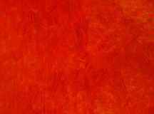 Red painting texture Stock Image