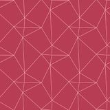 Red and pale pink geometric ornament. Seamless pattern. For web, textile and wallpapers Royalty Free Stock Photography