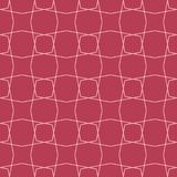Red and pale pink geometric ornament. Seamless pattern. For web, textile and wallpapers Royalty Free Stock Images