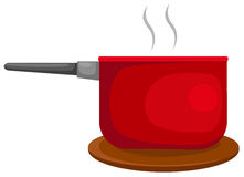 Red pan Stock Images