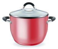 Red pan Royalty Free Stock Photos