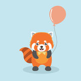 Red panda. Royalty Free Stock Photo