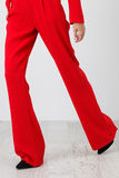 Red pants on white Royalty Free Stock Images