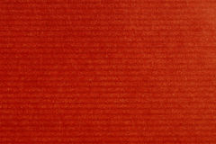 Red paper. Lined red wrapping gift paper wrap Stock Photos