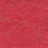 Red paper background. With golden pattern royalty free stock image