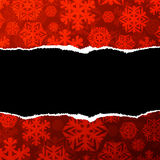 Red christmas paper abstract background Royalty Free Stock Image
