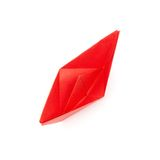 Red paper boat Royalty Free Stock Photos