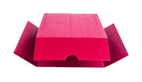 Red paper box. Stock Photography