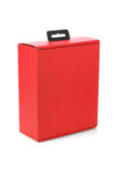 Red Paper Box Royalty Free Stock Photos