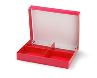 Red Paper Box Royalty Free Stock Images
