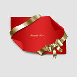 Red Paper Royalty Free Stock Photos