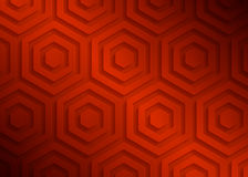 Red paper geometric pattern, abstract background template for website, banner, business card, invitation Royalty Free Stock Images