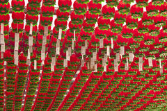 Red Paper Lanterns Royalty Free Stock Image