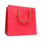 Red paper package. Royalty Free Stock Image