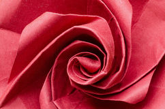 Red paper rose flower Stock Photos