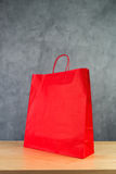 Red Paper Shopping Bag Royalty Free Stock Photos