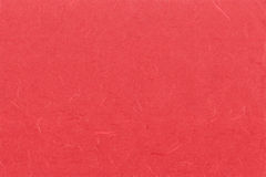 Red paper texture. With hairs Stock Photos
