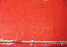 Red paper texture. Red paper tear-up texture royalty free stock photos