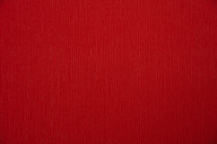 Red paper texture or background Royalty Free Stock Photography