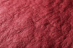 Red paper texture, close up.  Stock Image