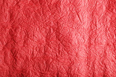 Red paper texture, close up.  Royalty Free Stock Image