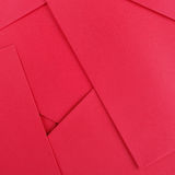 Red paper texture for design. Background Royalty Free Stock Image