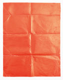 Red paper texture on white background.  Stock Photos