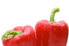 Red paprika Stock Photo