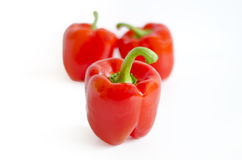 Red paprika (pepper) Selective focus Stock Photography