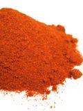 Red paprika powder close-up Stock Photos