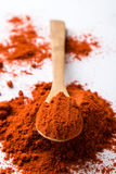 Red paprika powder Stock Photos