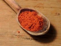 Red paprika powder Stock Image